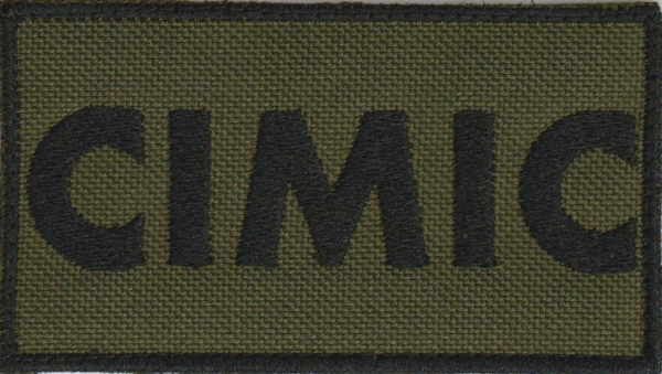 Civil-military co-operation CIMIC